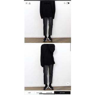Balenciaga - nens 再構築 ブラック ブルーセット