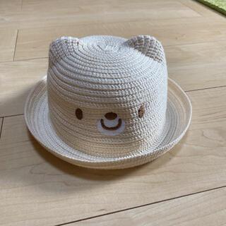 ベビー麦わら帽子 44センチ(帽子)