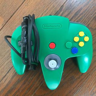ニンテンドウ64(NINTENDO 64)のジャンク品 Nintendo64コントローラー(家庭用ゲーム機本体)