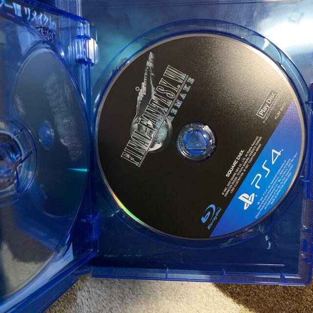 PlayStation4(プレイステーション4)のFF7  リメイク PS4  ソフト エンタメ/ホビーのゲームソフト/ゲーム機本体(家庭用ゲームソフト)の商品写真