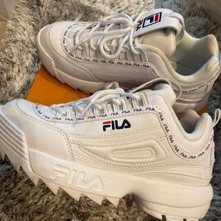 フィラ(FILA)のFILA スニーカー TAPEYTAPEWHITE(スニーカー)