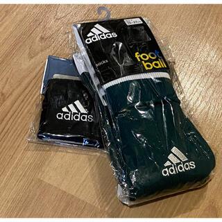 adidas - アディダス  サッカーソックスとリストバンドのセット‼️