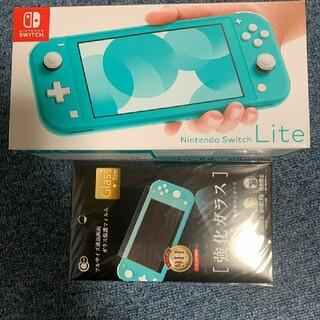 Nintendo Switch - 新品 Nintendo Switch Lite ターコイズ 本体 保証約10ヶ月