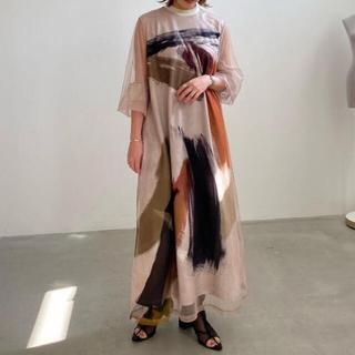 Ameri VINTAGE - AMERI  LOUISE  ART DRESS