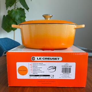 ルクルーゼ(LE CREUSET)のルクルーゼ ルオーバル25㎝鍋(鍋/フライパン)