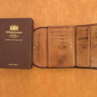 ホワイトハウスコックス(WHITEHOUSE COX)のWhitehouse Cox  人気色(折り財布)