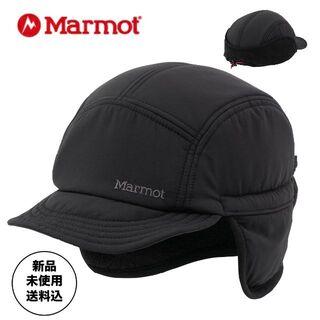 MARMOT - ★新品・送料込★マーモットヒートナビインサレーションキャップ黒Lフリース