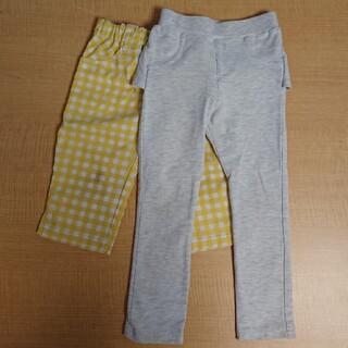 アカチャンホンポ(アカチャンホンポ)の◎グレーフリル(後)グレー+黄色ギンガムパンツ(パンツ/スパッツ)