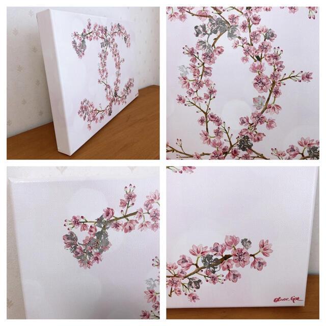 オリバーガル oliver gal シャネル 桜 キャンバス 絵画 エンタメ/ホビーの美術品/アンティーク(絵画/タペストリー)の商品写真