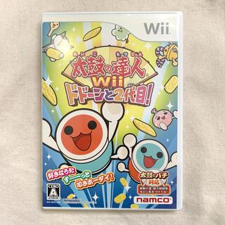 バンダイナムコエンターテインメント(BANDAI NAMCO Entertainment)の太鼓の達人Wii ドドーンと2代目! Wii(家庭用ゲームソフト)