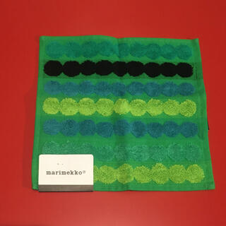 marimekko - マリメッコ marimekko タオルハンカチ ハンドタオル