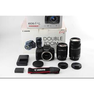 Canon - 【超美品】Canon EOS Kiss X7 ダブルズームレンズセット