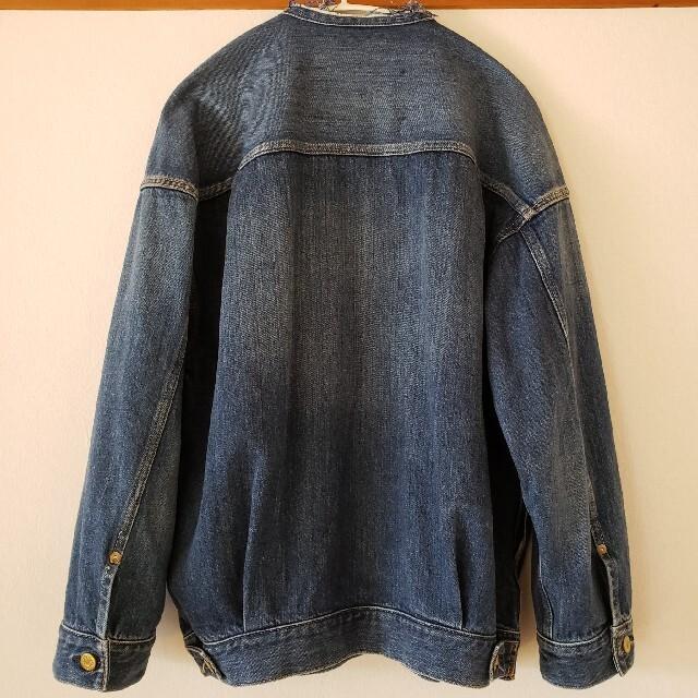 IENA(イエナ)の【美品】イエナ リメイクルーズデニムブルゾン 36 外したタグあり レディースのジャケット/アウター(Gジャン/デニムジャケット)の商品写真