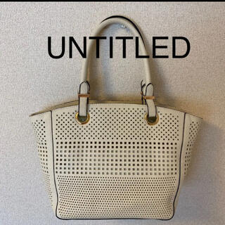 UNTITLED - 美品!アンタイトルバッグ