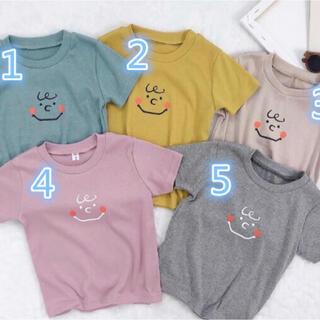futafuta - チャーリーTシャツ♡半袖♡サイズ80ピンク