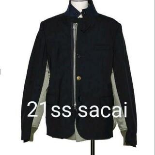 sacai - 21ss sacai Suiting x MA-1 Jacket サカイ