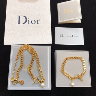 Dior - Diorブレスレット   Dior ネックレス