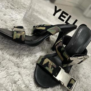 Yellow boots - 【激安】YELLO 迷彩 ピンヒールサンダル