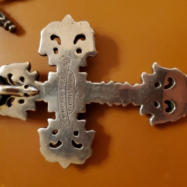 Chrome Hearts(クロムハーツ)の鬼滅の八重歯さん専用クロムハーツ フィリグリークロス ラージ レア 本物 正規品 メンズのアクセサリー(ネックレス)の商品写真