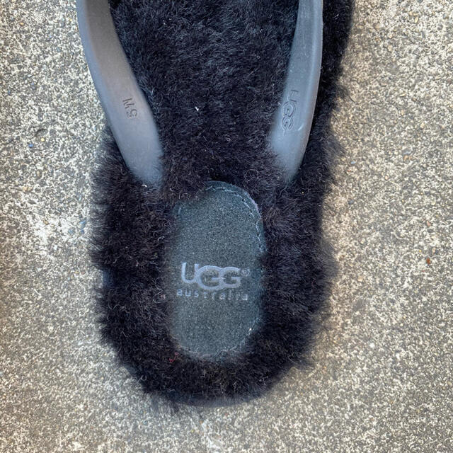 UGG(アグ)の【美品】UGG ファーサンダル レディースの靴/シューズ(サンダル)の商品写真
