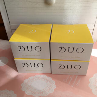 DUO クレンジングバーム クリア90g ×4個