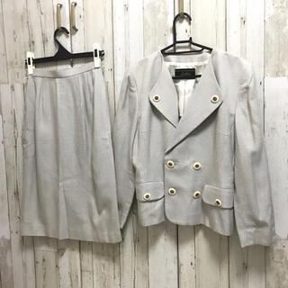 レリアン(leilian)のレリアン ツイードセットアップ スーツ 高級ブランド 上品 ママ(スーツ)