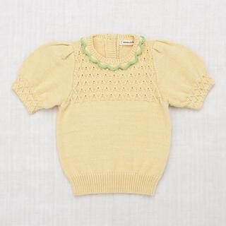 Caramel baby&child  - 3/3まで♡新品未使用タグ付き♡2021ss トップス 半袖ニット サマーニット
