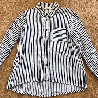 エイチアンドエム(H&M)のH&M ストライプシャツ ブラウス 140 卒業式 入学式 フォーマル(ブラウス)
