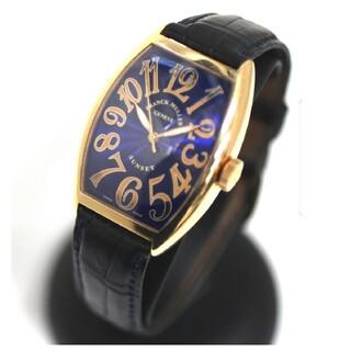 フランクミュラー(FRANCK MULLER)のフランクミュラー サンセットRef.5850SC ピンクゴールド×ブルーダイアル(腕時計(アナログ))