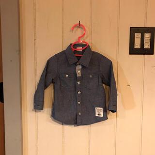 アカチャンホンポ(アカチャンホンポ)の男の子 ベビー シャツ Yシャツ 長袖 サイズ80   フォーマル 誕生日 入園(シャツ/カットソー)