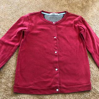 エムピーエス(MPS)のカーディガン 130 女の子 羽織り MPS ライトオン(ジャケット/上着)