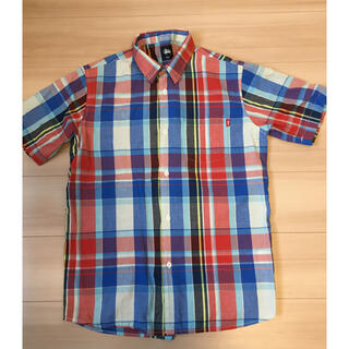 ステューシー(STUSSY)のstussy ステューシー  半袖チェックシャツ(シャツ)
