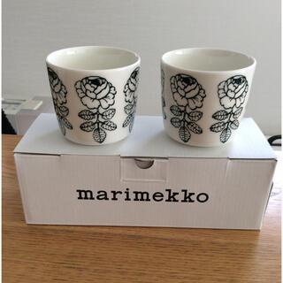 marimekko - マリメッコ  VIHKIRUUSU ヴィヒキルース ラテマグ  2個セット