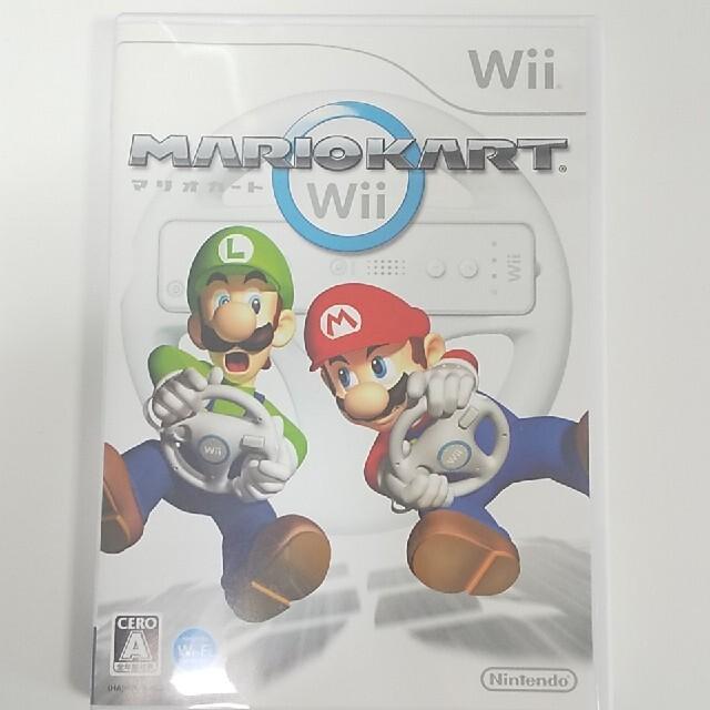 Wii(ウィー)のマリオカート Wii エンタメ/ホビーのゲームソフト/ゲーム機本体(家庭用ゲームソフト)の商品写真