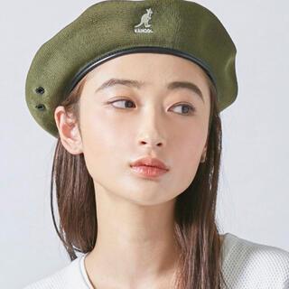 KANGOL - KANGOL ベレー帽 ダークグリーン