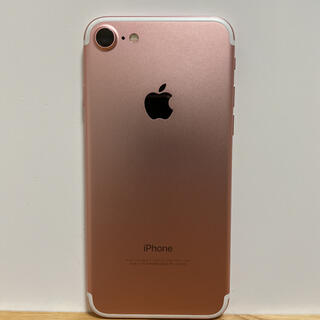 iPhone - iPhone7 ローズゴールド 128GB ピンク 91%