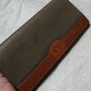 クリスチャンディオール(Christian Dior)のクリスチャン・ディオール グレージュ ユニセックス 男女兼用 長財布 匿名配送(長財布)