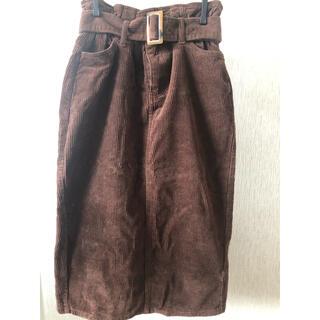 レトロガール(RETRO GIRL)のコーデュロイ スカート(ひざ丈スカート)