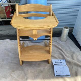 大和屋 - すくすくチェア アーク テーブル & ガード付き 大和屋 ベビーチェア 木製