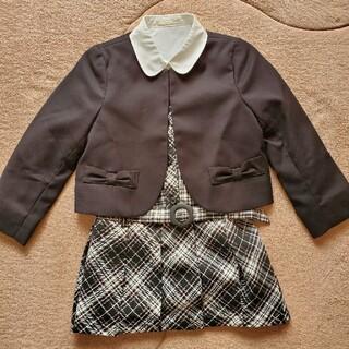 ジーユー(GU)の110cm 新品 セレモニースタイル 入園・卒園・入学式に♪(ドレス/フォーマル)