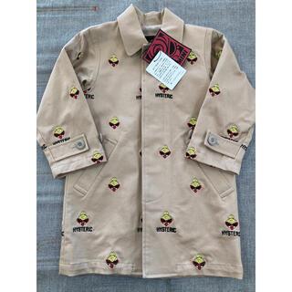 ヒステリックミニ(HYSTERIC MINI)のヒスミニ 刺繍 スプリングコート(コート)