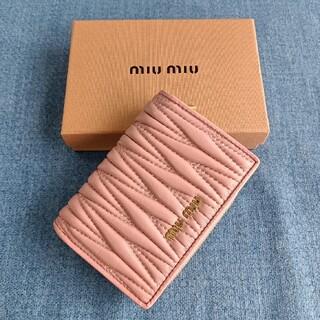 miumiu - ピンク~レディース財布❣miumiu コインケース