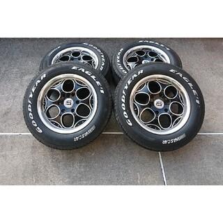 Goodyear - 【送料無料‼️】グッドイヤーナスカー タイヤ&ホイール 4本セット
