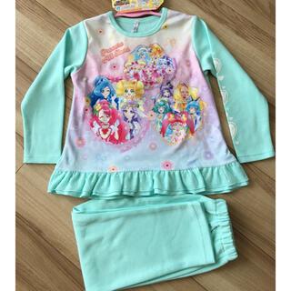 BANDAI - 【新品】プリキュア オールスターズ 光るパジャマ size120  グリーン