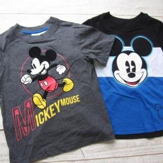 Disney - ディズニー ミッキー 半袖Tシャツ 2枚 【5】 〓ZNO(ネコポス)