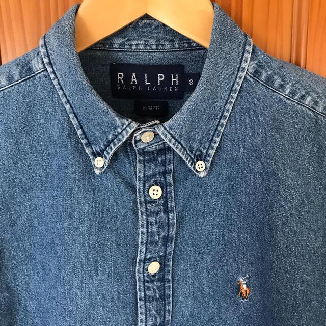 Ralph Lauren(ラルフローレン)のラルフローレン  デニムシャツ レディースのトップス(シャツ/ブラウス(長袖/七分))の商品写真