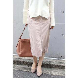 Noble - Noble フープジップフレンチコールスカート