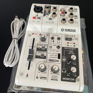 ヤマハ - YAMAHA AG03 美品