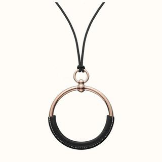 Hermes - レア✨国内完売品✨エルメス ノワール ブラック 黒 ローズゴールド ループグラン