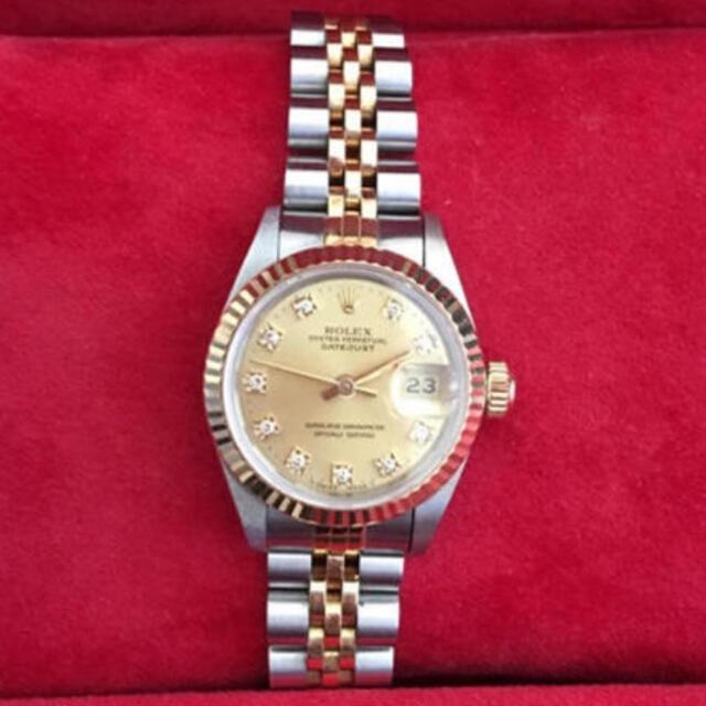 ROLEX(ロレックス)の正規品ROLEXレディース10p🌸jun様専用 レディースのファッション小物(腕時計)の商品写真